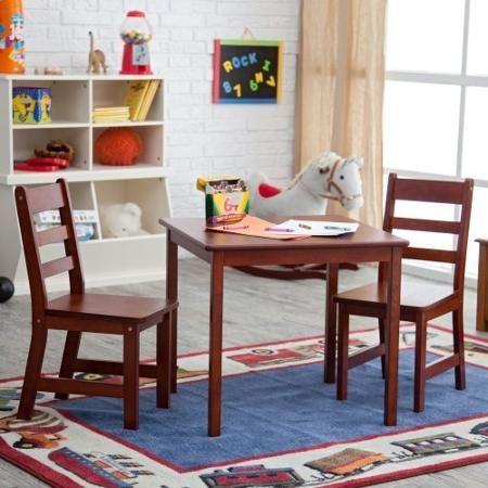 Lipper Childrens Square Table and Chair Set   Children   Pinterest ...