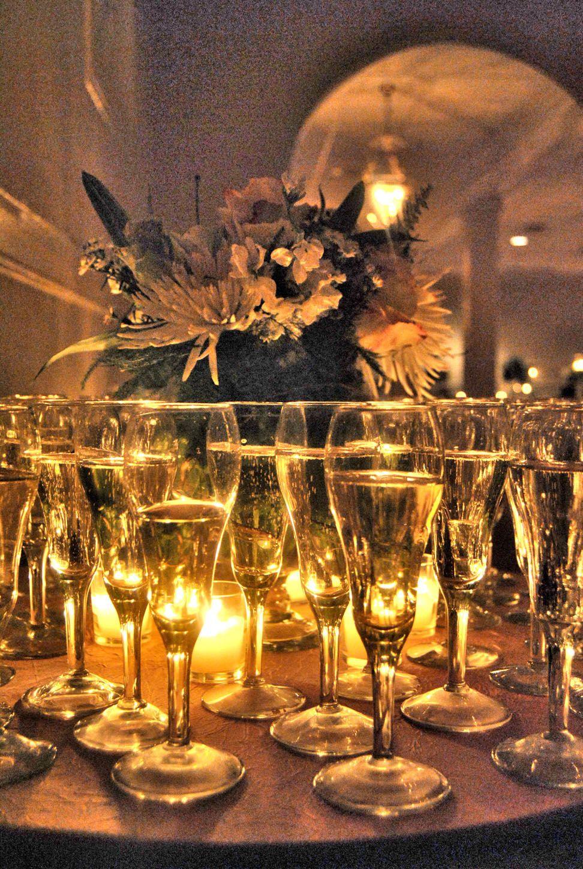 Cheers table decorations decor wedding reception