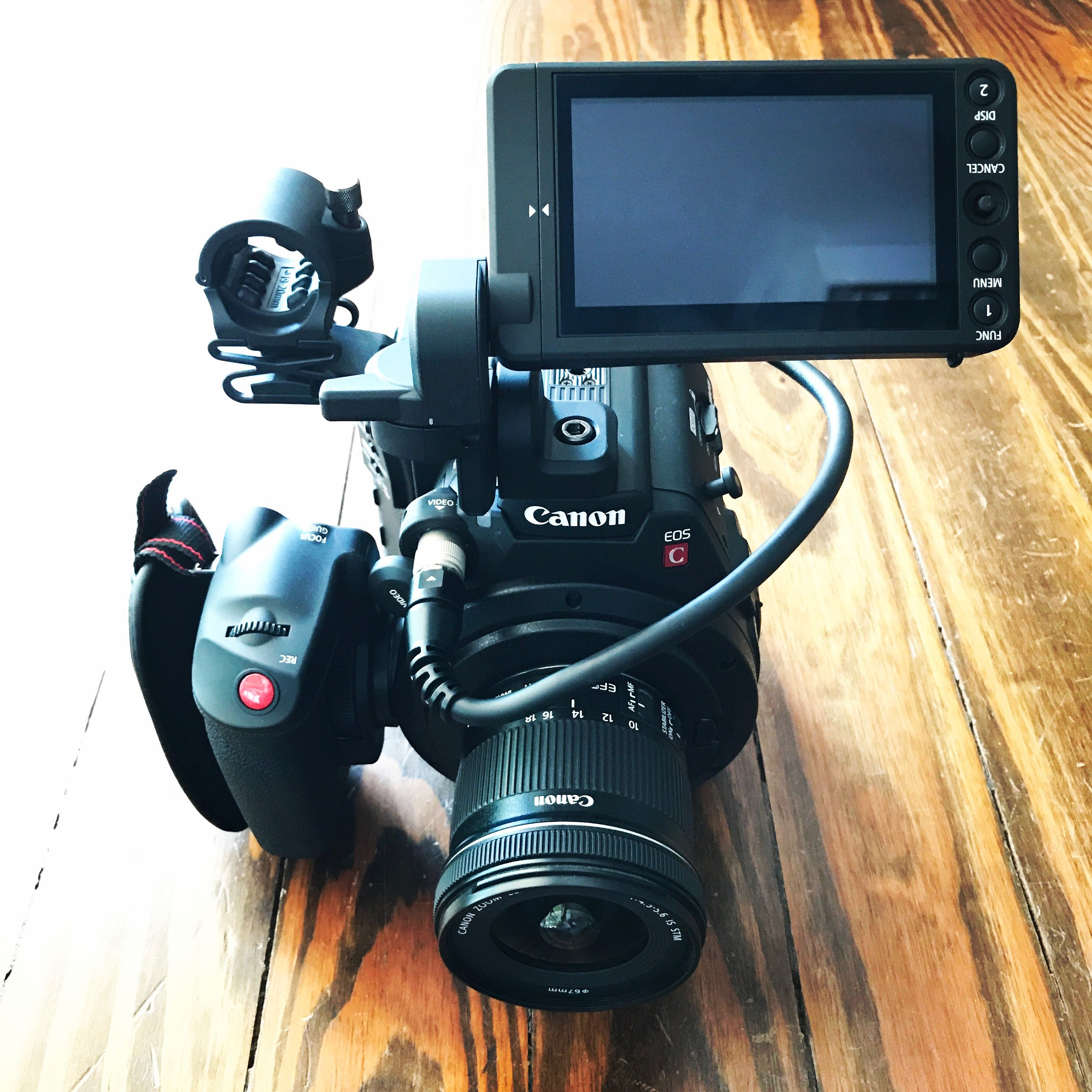 Canon C200B Digital Cinema Camera Body w/o EVF - 2216C002