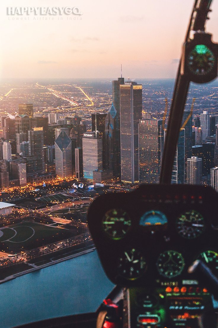 You'll find the perfect view when you're reaching city.