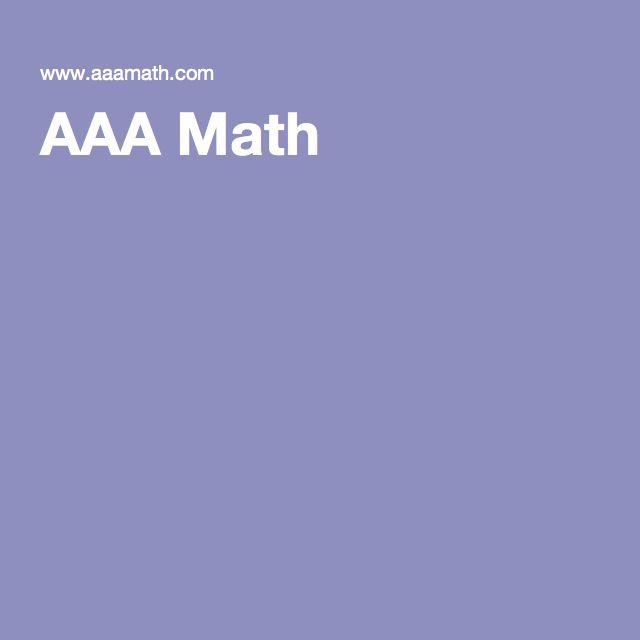 Aaa Math Math Aaa Arithmetic