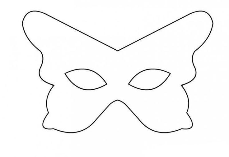 Hayvan Maskeleri Maske Pinterest Butterfly Butterfly Mask Ve