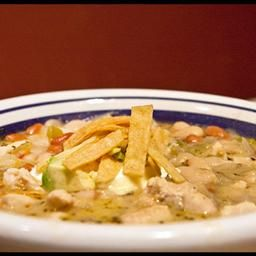 White Bean Chicken Chili on BigOven: Very quick and satifying meal for cool weather. One of our family favorites. Re-heats well.