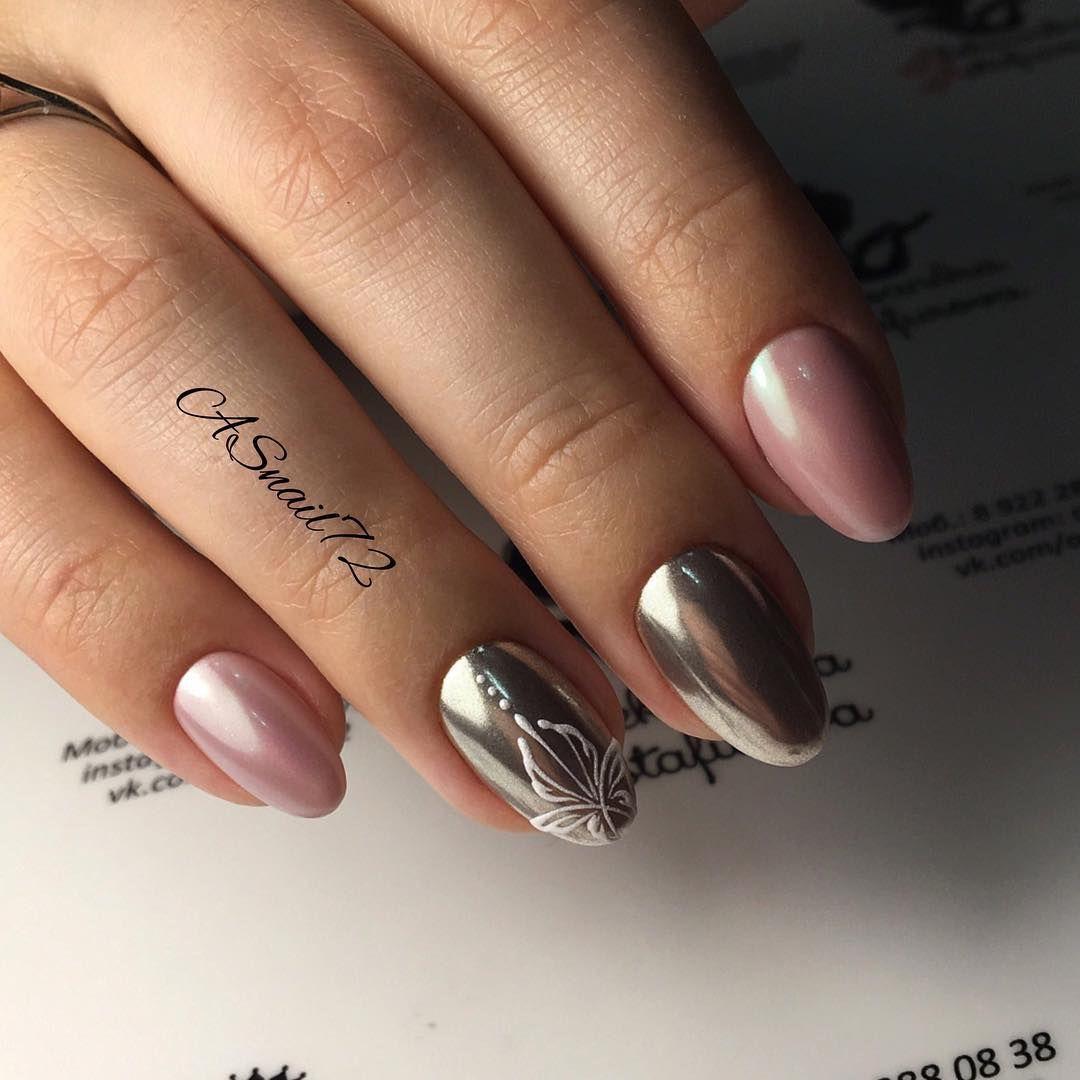 дизайн ногтей розовый с втиркой - Тюменский издательский дом