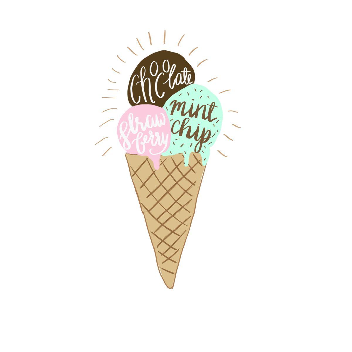 Summer Ice Cream Wallpaper: Pin By Jadelynn Brooke On Summer Lovin'