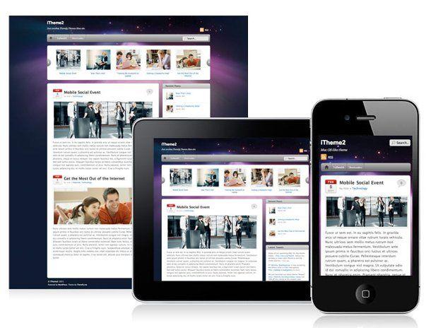 itheme2 - responsive web design wordpress theme | WordPress themes ...
