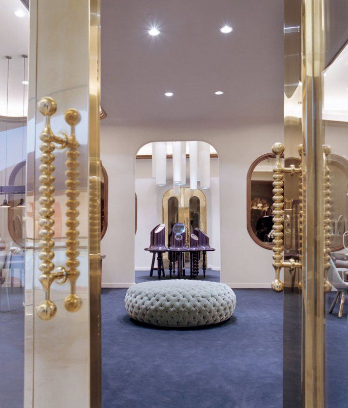 Octium Jewelry Store By Jaime Hayon In Kuwait With Images Jewelry Store Design Jewellery Shop Design Store Design