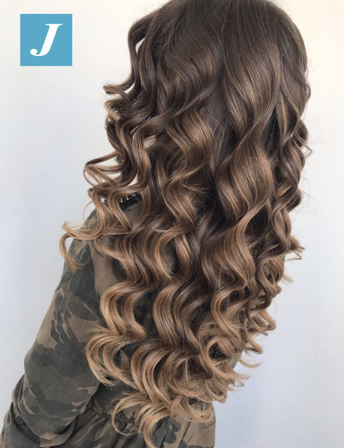Perfetto Sempre Degrade Joelle Cdj Degradejoelle Tagliopuntearia Degrade Igers Musth Curls For Long Hair Curly Hair Styles Naturally Thick Hair Styles