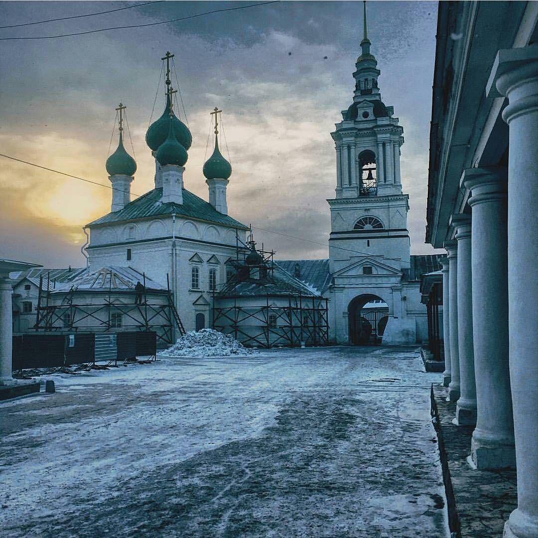 Город Кострома Автор фото: @alivanshin #кострома # ...