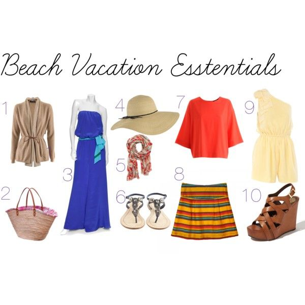 Tips to packing a carry on for a beach vacation.  For complete details visit valverdestyle.com
