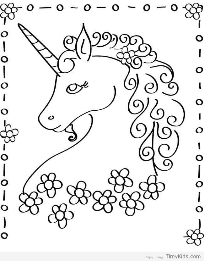 Moderno Colorear Unicornio Galería - Dibujos Para Colorear En Línea ...