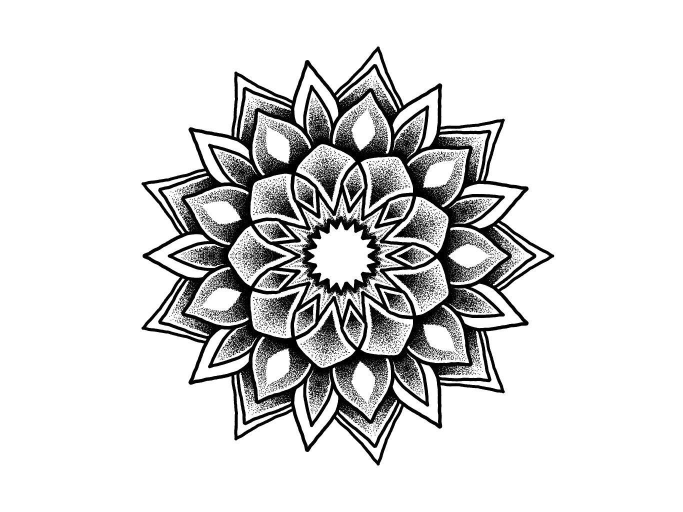 Tatuaggio Mandala ….