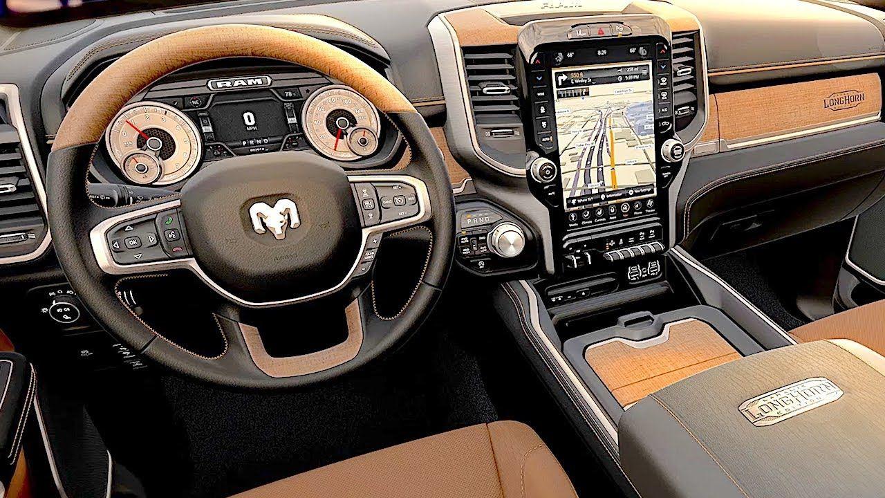 2019 Ram 1500 Laramie Longhorn Interior Luxury Pickup Ram Special Edition 2019 Carjam Dodge Ram Longhorn Dodge Ram Dodge