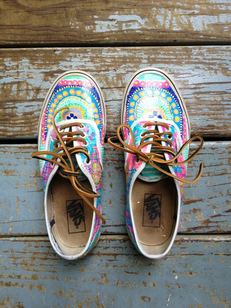 a0d196e3e6 painted vans tumblr - Google Search