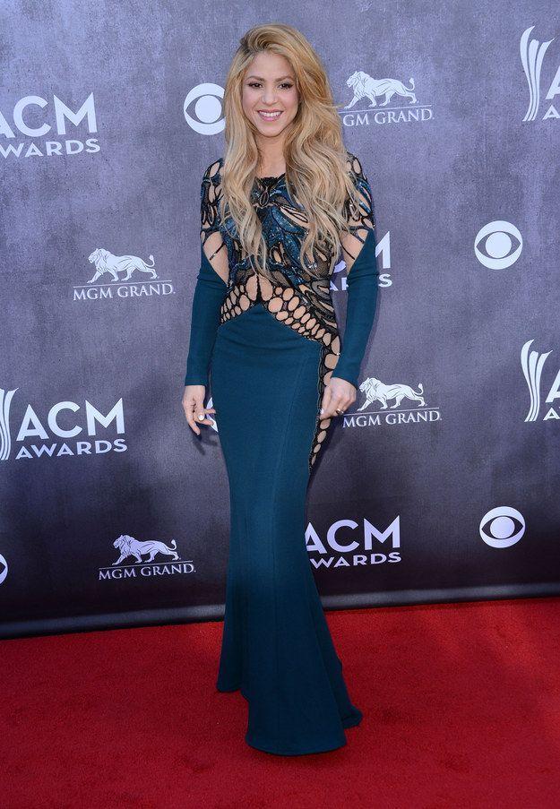 Shakira - Red Carpet | Shakira | Pinterest | Red carpet