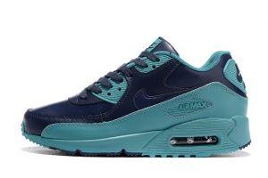 ede2fc220463 Nike Air Max 90 Men Running Shoes Dark Blue Jade 345017-112