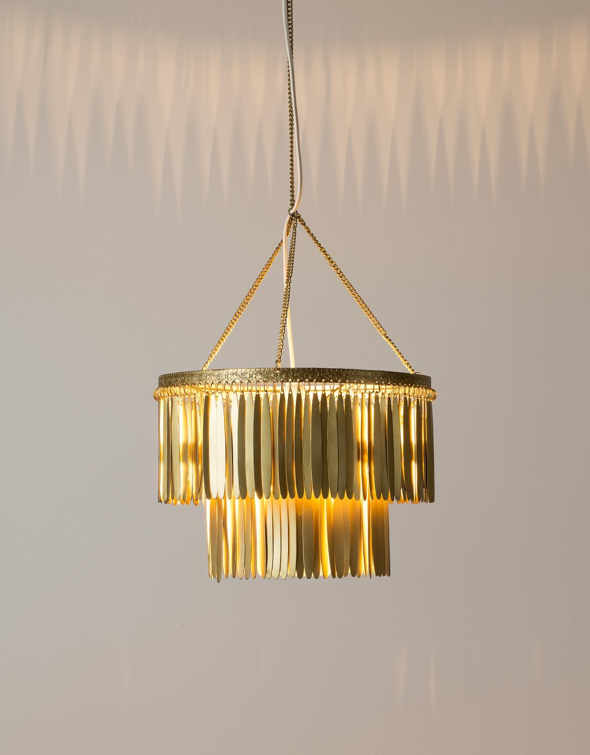FEATHER taklampe messing | Electric lamps | Lamper | Home | INDISKA Shop Online