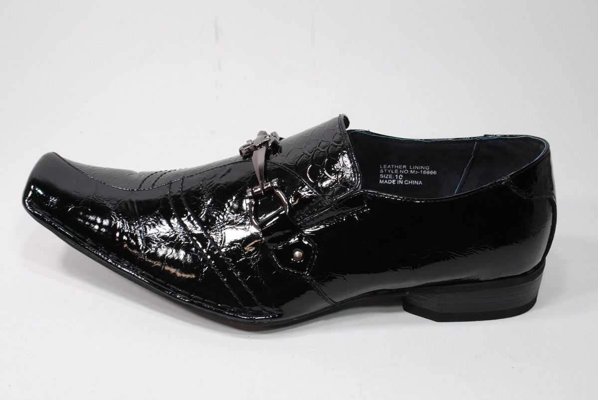 Delli Aldo Italian Style Mens Size Dress Shoes 8666a Shiny Black 109 Dress Shoes Dress Shoes Men Shoes [ 803 x 1200 Pixel ]