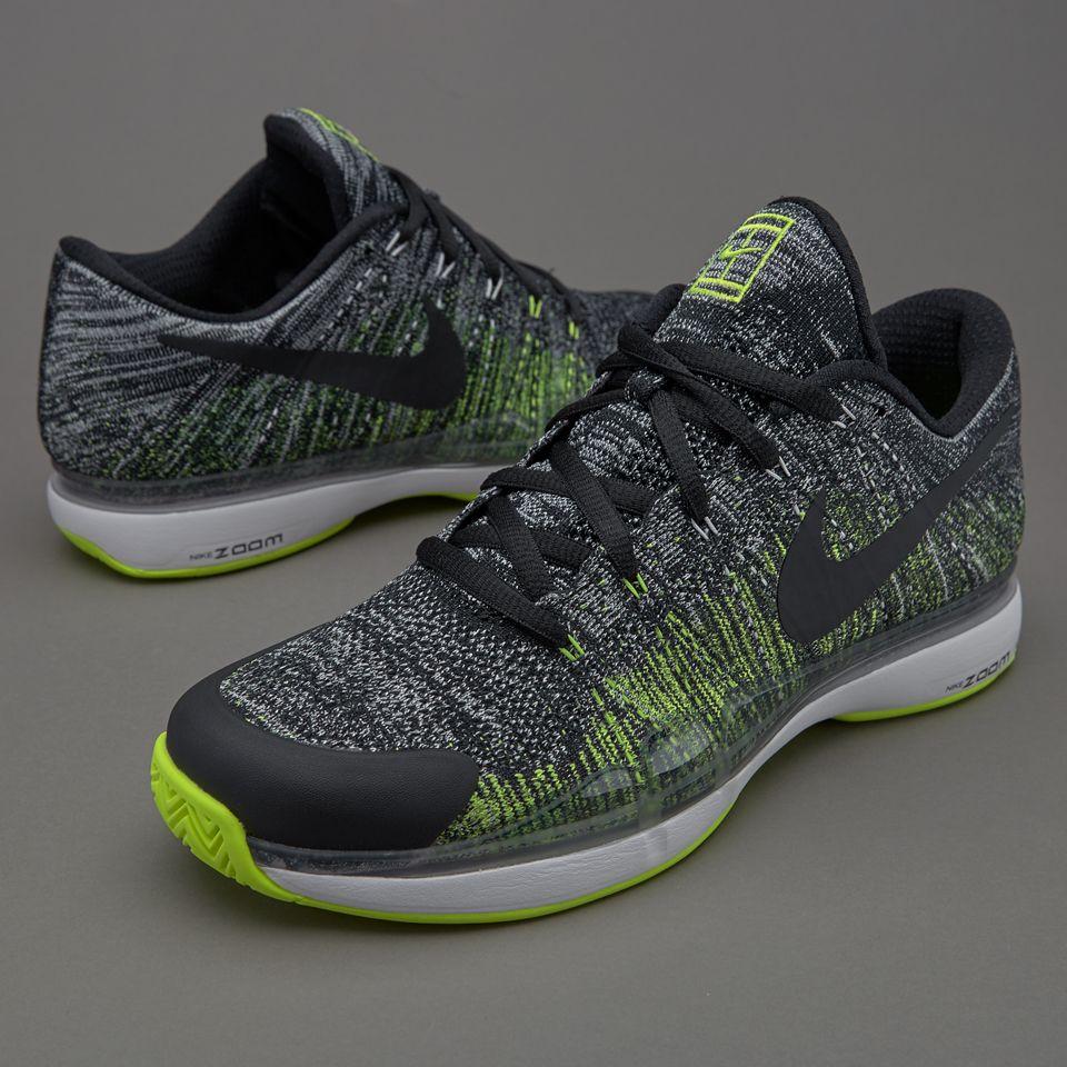 Women's Nike Wmns Flyknit Max White Mango Volt Sneakers : N72v6086