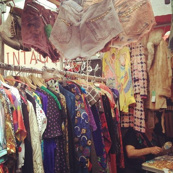 Vintage Paradise London Market Spitalfields Market London Town
