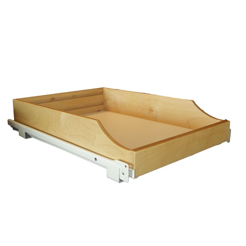 Rolling Shelves 17 In Express Pullout Shelf Rsxp17 The Home Depot In 2020 Rolling Shelves Sliding Shelves Slide Out Shelves