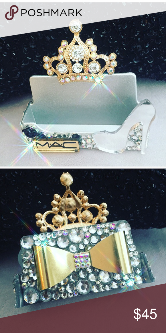 Bling Business Card Holder NWT | My Posh Picks by Ashley Kubit ...