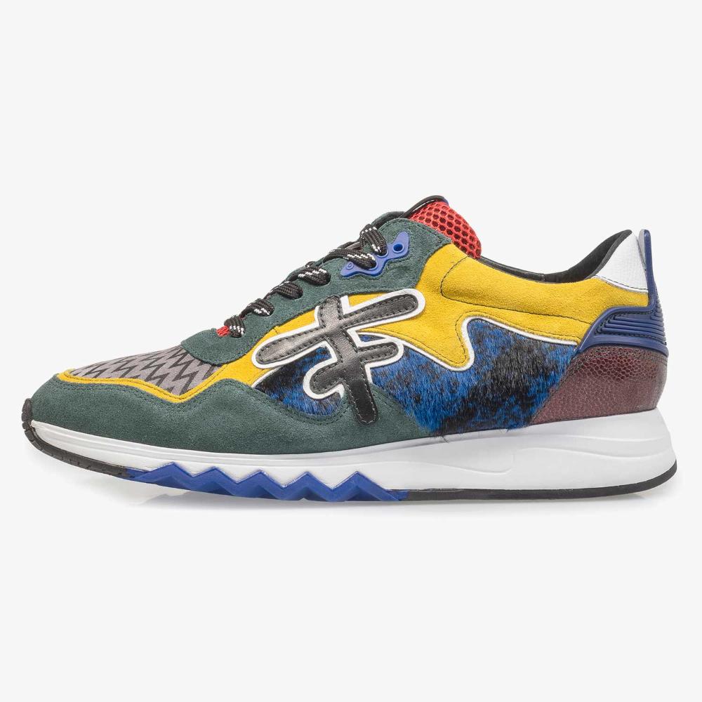 Premium multi color sneaker 1619402 | Floris van Bommel