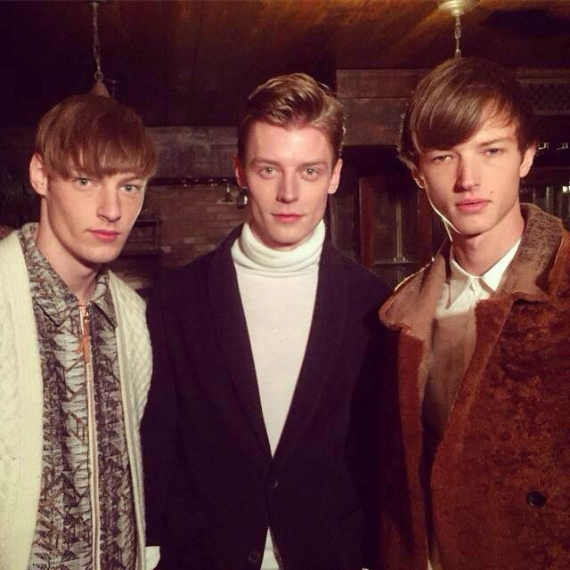 Backstage at Billy Reid FW15-16