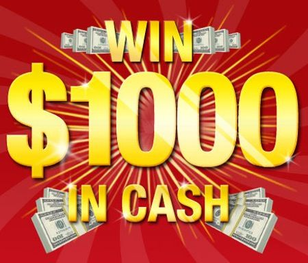 Win $1000 in Cash!   Giveaways + Contests!   Free cash, Win