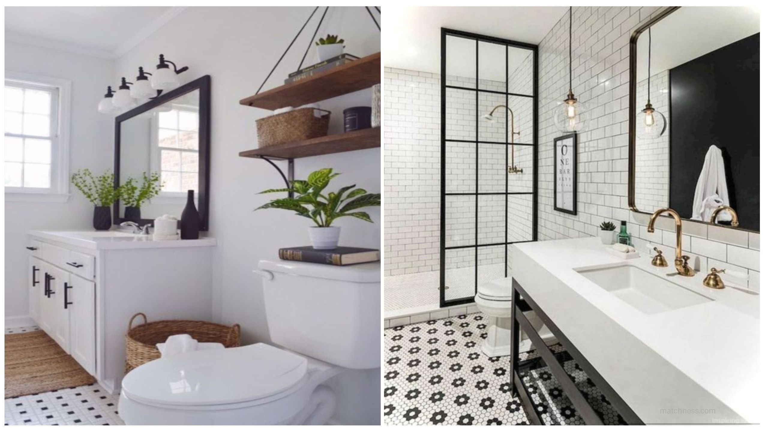 beautiful and modern farmhouse bathroom design ideas modern