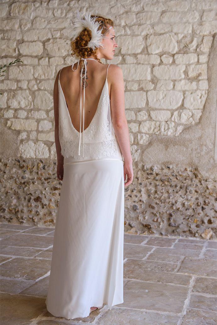 Les robes de mariée de Salomé Gautard - Collection 2016 | Modèle: Robe Denise | Crédit: Salomé Gautard | Donne-moi ta main - Blog mariage