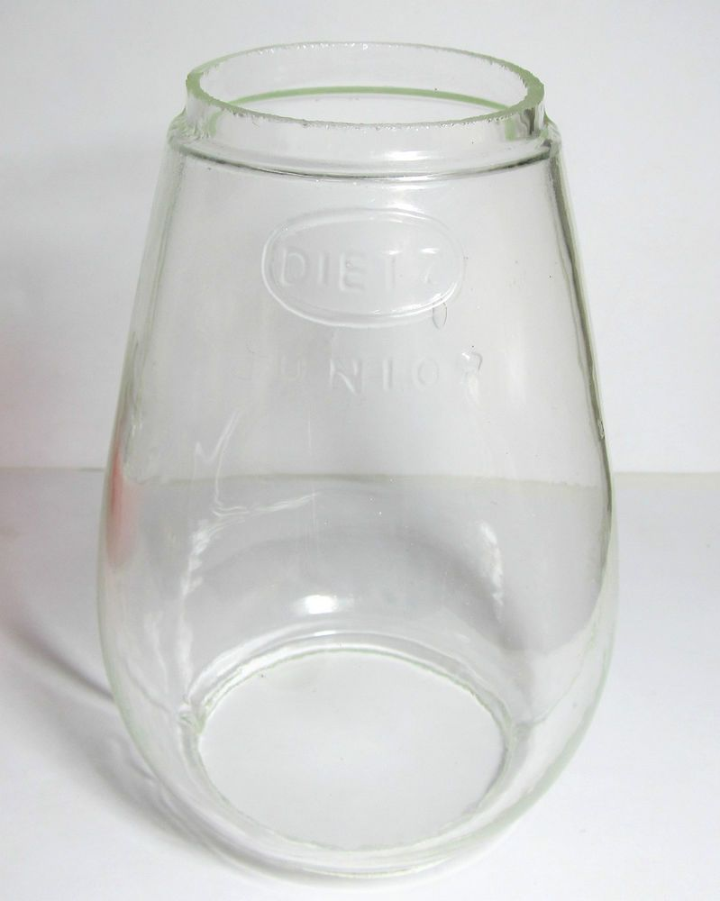 Vintage Dietz Junior Jr Clear Glass Replacement Lantern