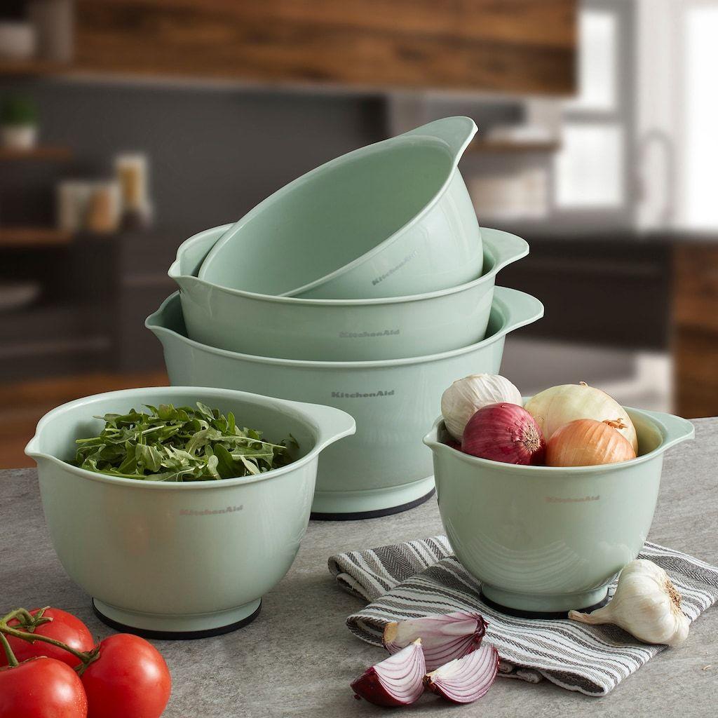 Kitchenaid 5pc mixing bowl set kohls in 2020 mixing