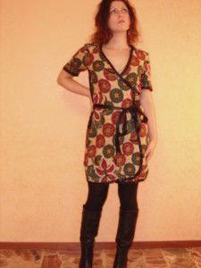 Diy - how to sew a draped dress