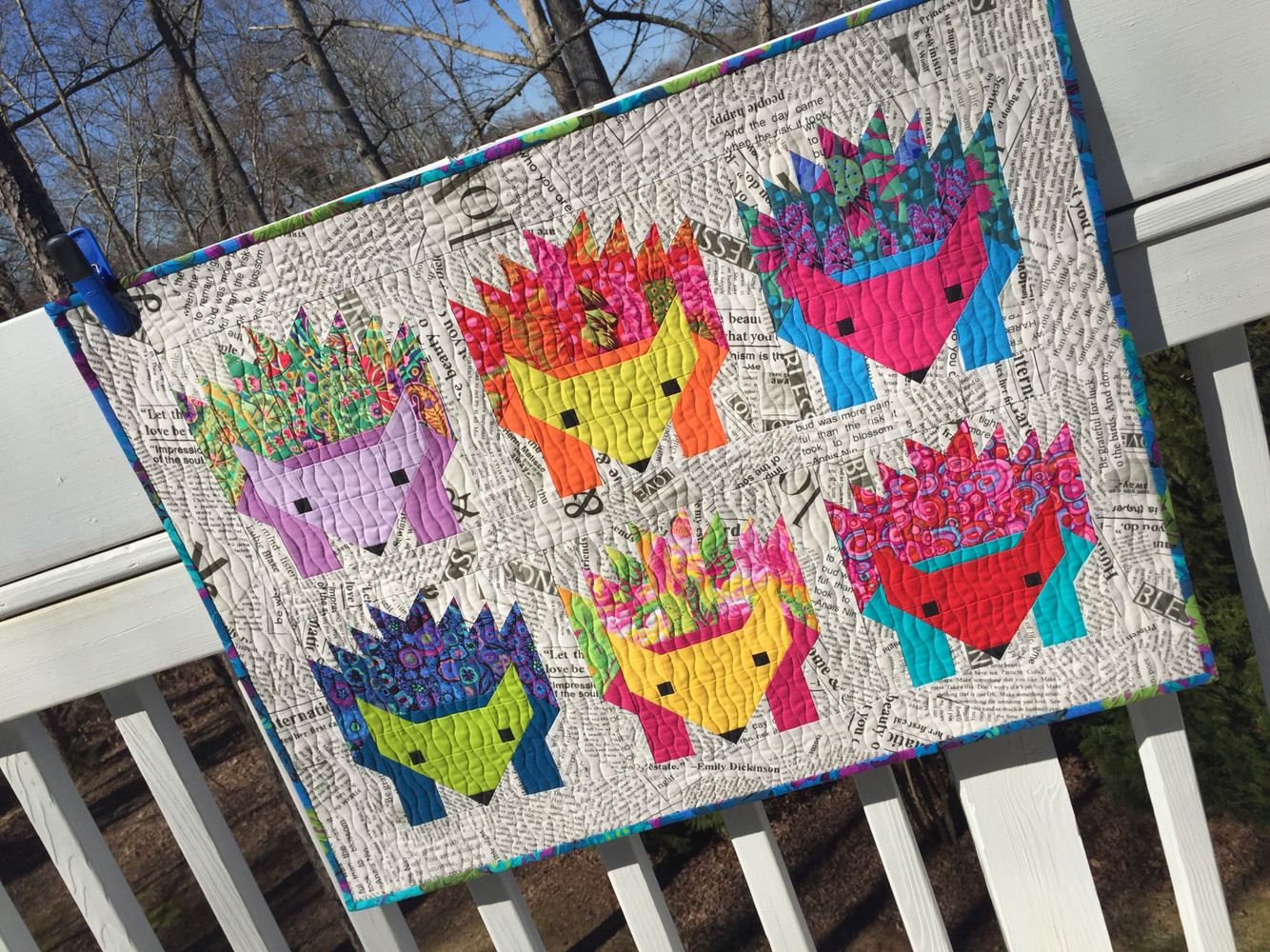 Hazel Hedgehog Quilt Quilts And Things That I Have Made