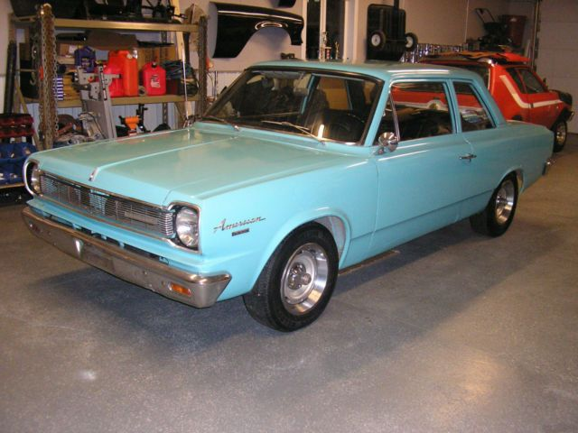 1966 Amc Rambler American 232 Straight Six And 3 On The Tree
