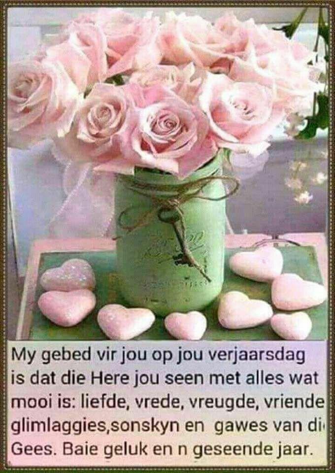 Verjaarsdag Wense Akrikaans T Afrikaans Meet And