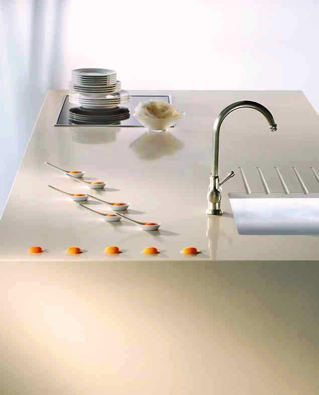 Natural Stone Countertop Silestone Zen Haiku Kitchen