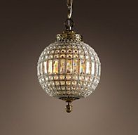 19th C. Casbah Crystal Chandelier Small | Chandeliers | Restoration Hardware. I die.