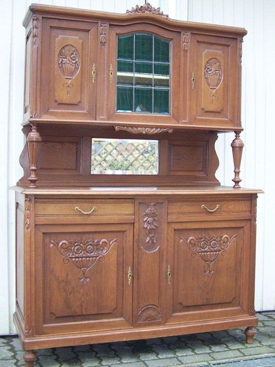 Diy Vintage Buffet In Kreideweiss Holz Vintage Buffet Buffet