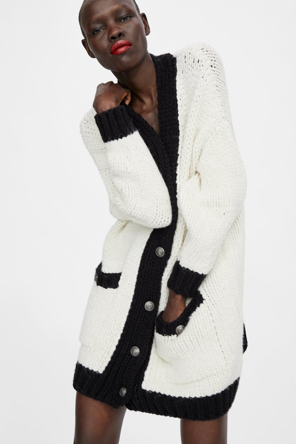 2f30a7bf Image 2 of OVERSIZED BLOCK COLOR JACKET from Zara | Wordrob | Color ...