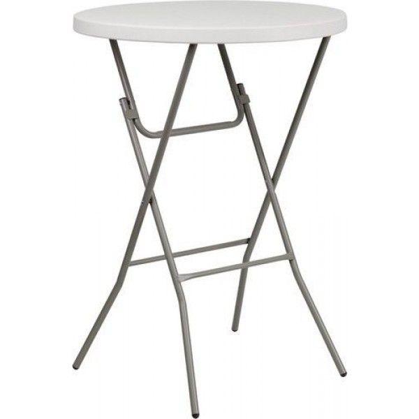 Enjoyable Single 32 Portable White Folding Bar Stool Table Granite Onthecornerstone Fun Painted Chair Ideas Images Onthecornerstoneorg