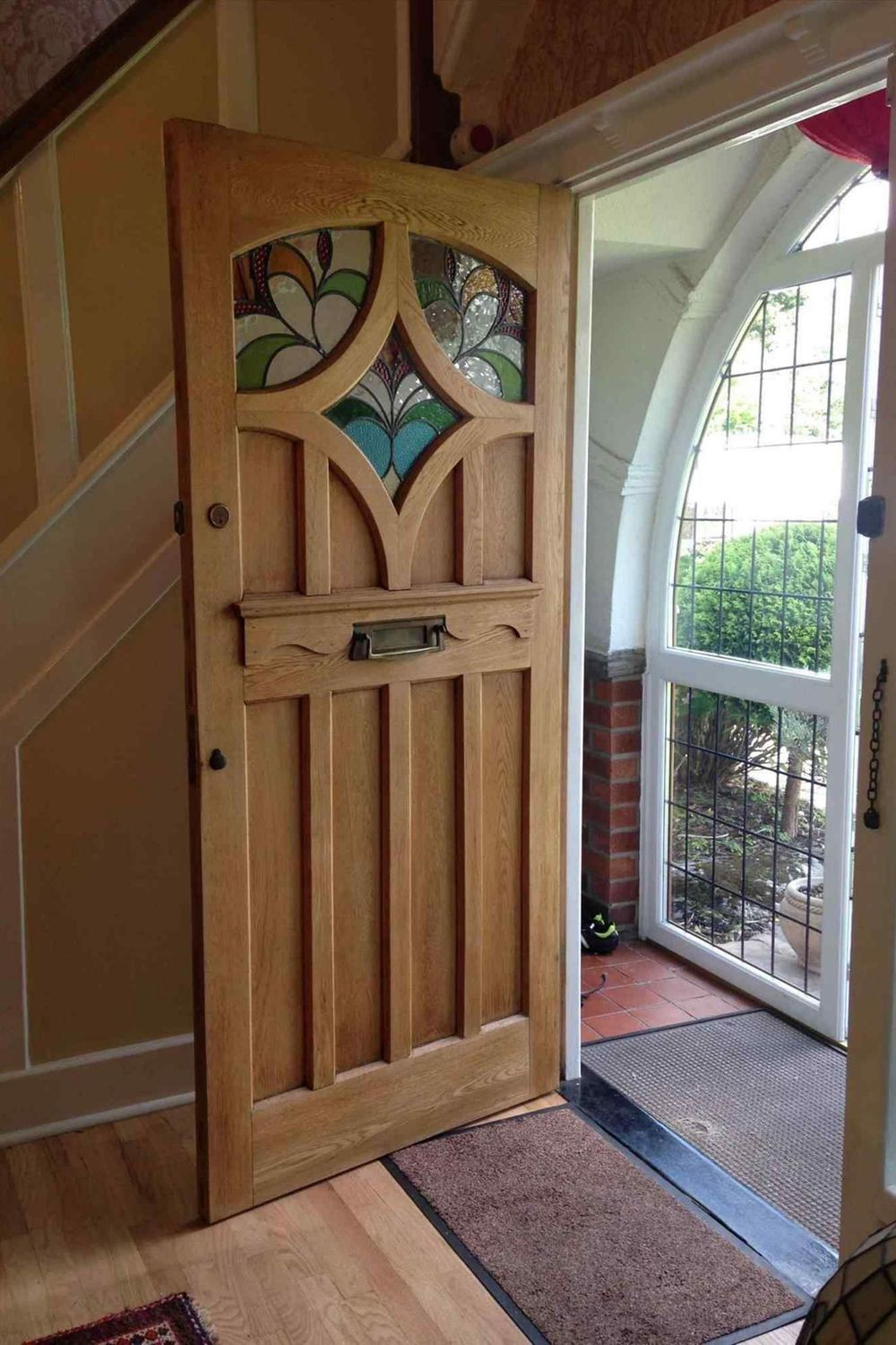 Window Exterior Door Sidelight House Property Hardwood Wooden