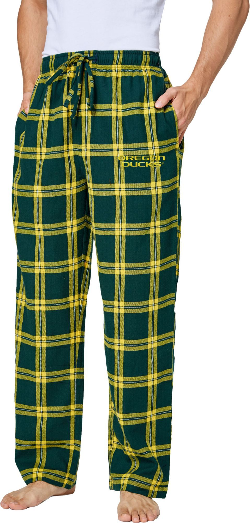 Oregon ducks flannal pj bottoms