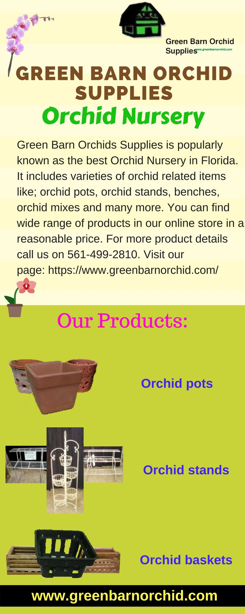 Green Barn Orchid Supplies Is A Best Nursery In Florida That Provides Various Items Affordable Prices It Includes Pots
