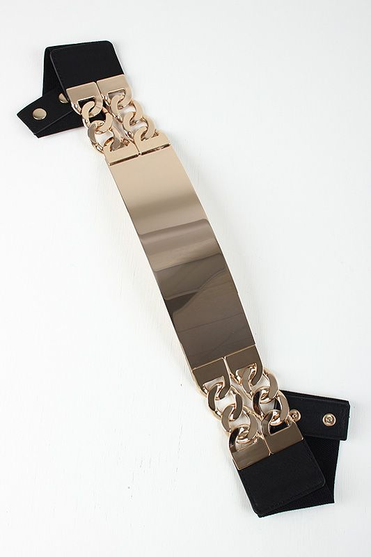 Solid Metal Plate Belt #urbanog #holidaytrends