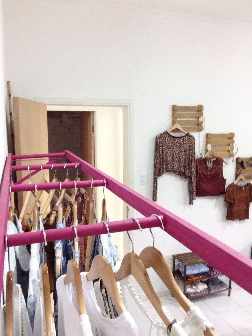 """Arara """" escada """" para pinturas cabides"""