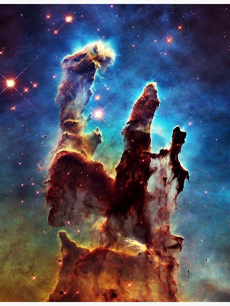 Pillars of Creation Canvas Print by JenJarrett | Nebula ...