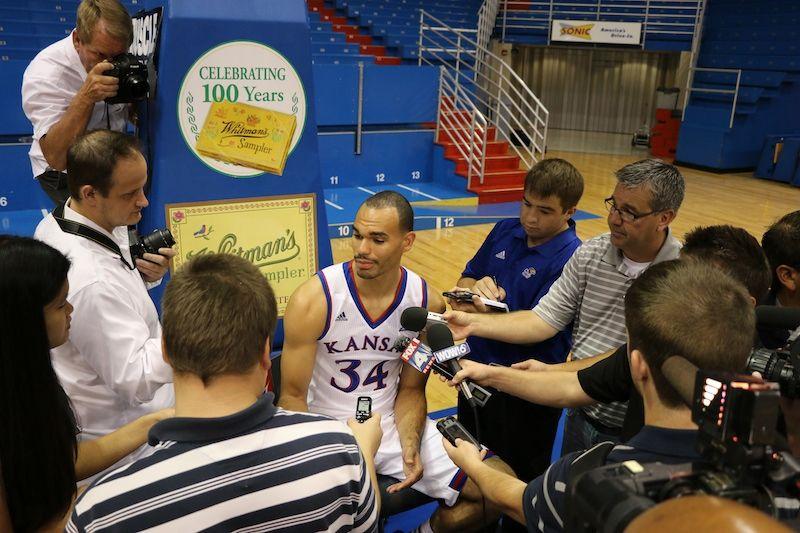 201415 KANSAS Men's Basketball Media Day by Kansas