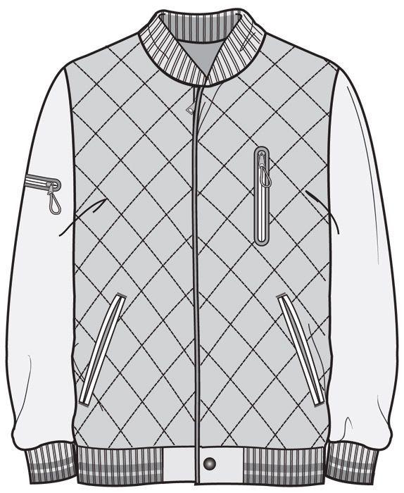 Resultado de imagen para diseños planos de chaquetas | imagenes ...